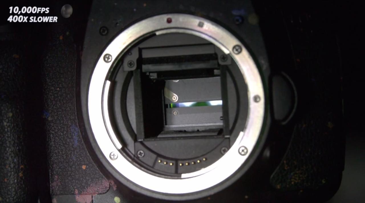 عملکرد شاتر دوربین